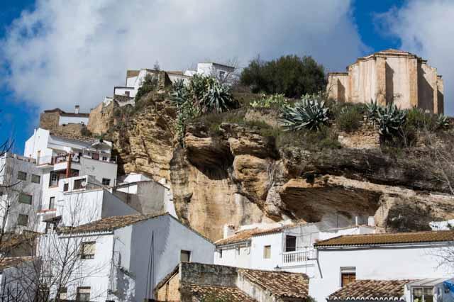Casas en la roca