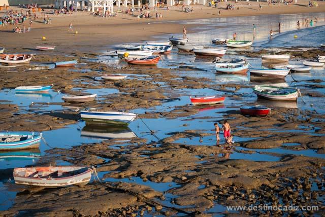 Disfruta del espectáculo de ver atardecer en la playa de La Caleta