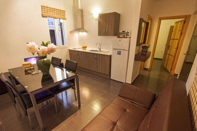 Los apartamentos están tan bien cuidados y decorados tan exquisitamente que te sentirás mejor que en casa.