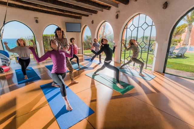 El Hurricane ofrece también clases de Pilates para poner en forma tu cuerpo y mente.
