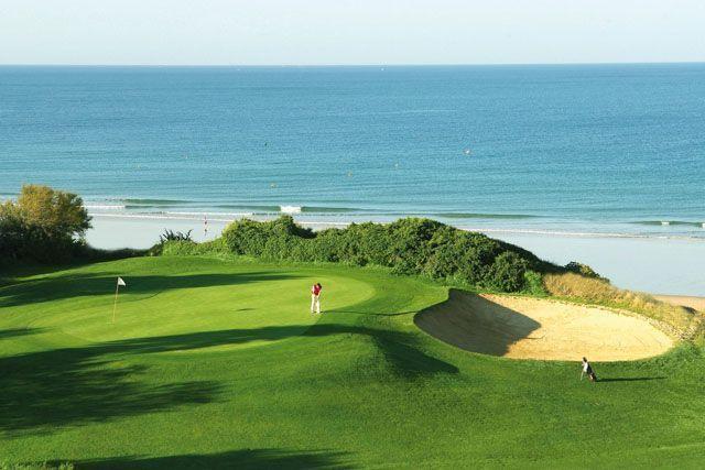 Campo de golf en Andalucia