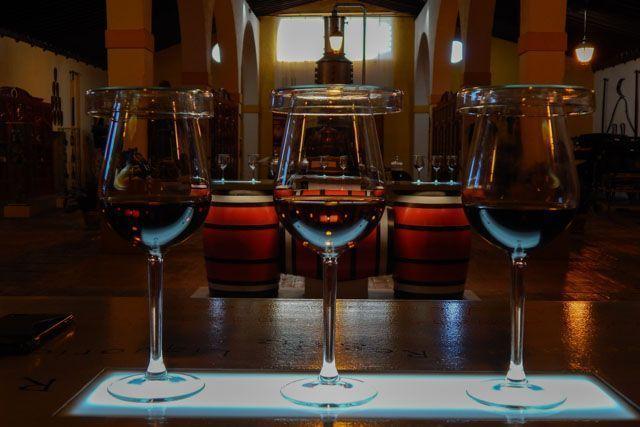 El vino, símbolo de Jerez de la Frontera.