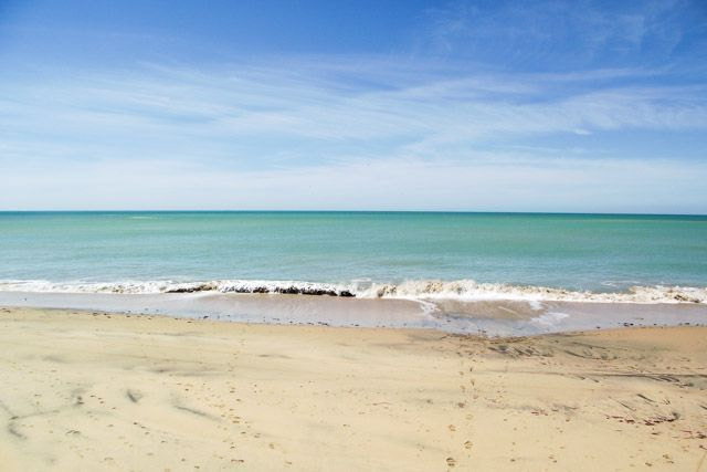 Playas mucho menos abarrotadas para disfrutarlas en primavera.