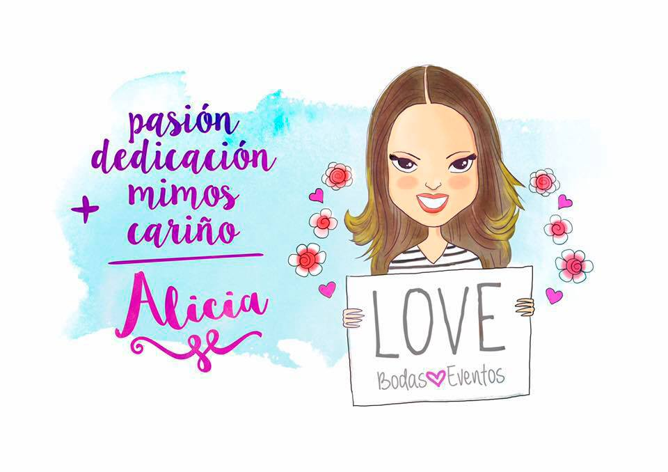 Alicia Perez Fopiani, creadora de Love Wedding Planner.
