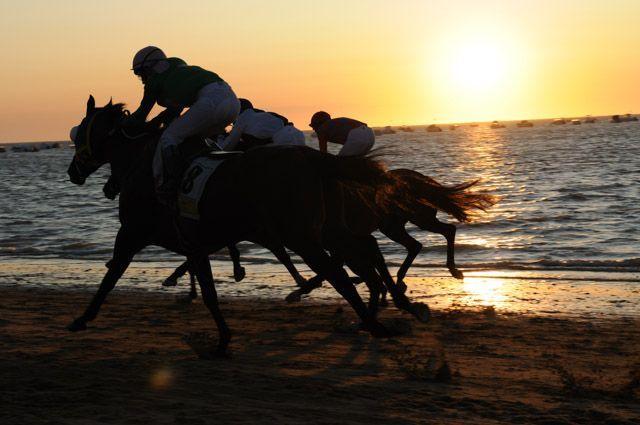 Las carreras de caballos de Sanlúcar son un espectáculo único que debes vivir al menos una vez en la vida.