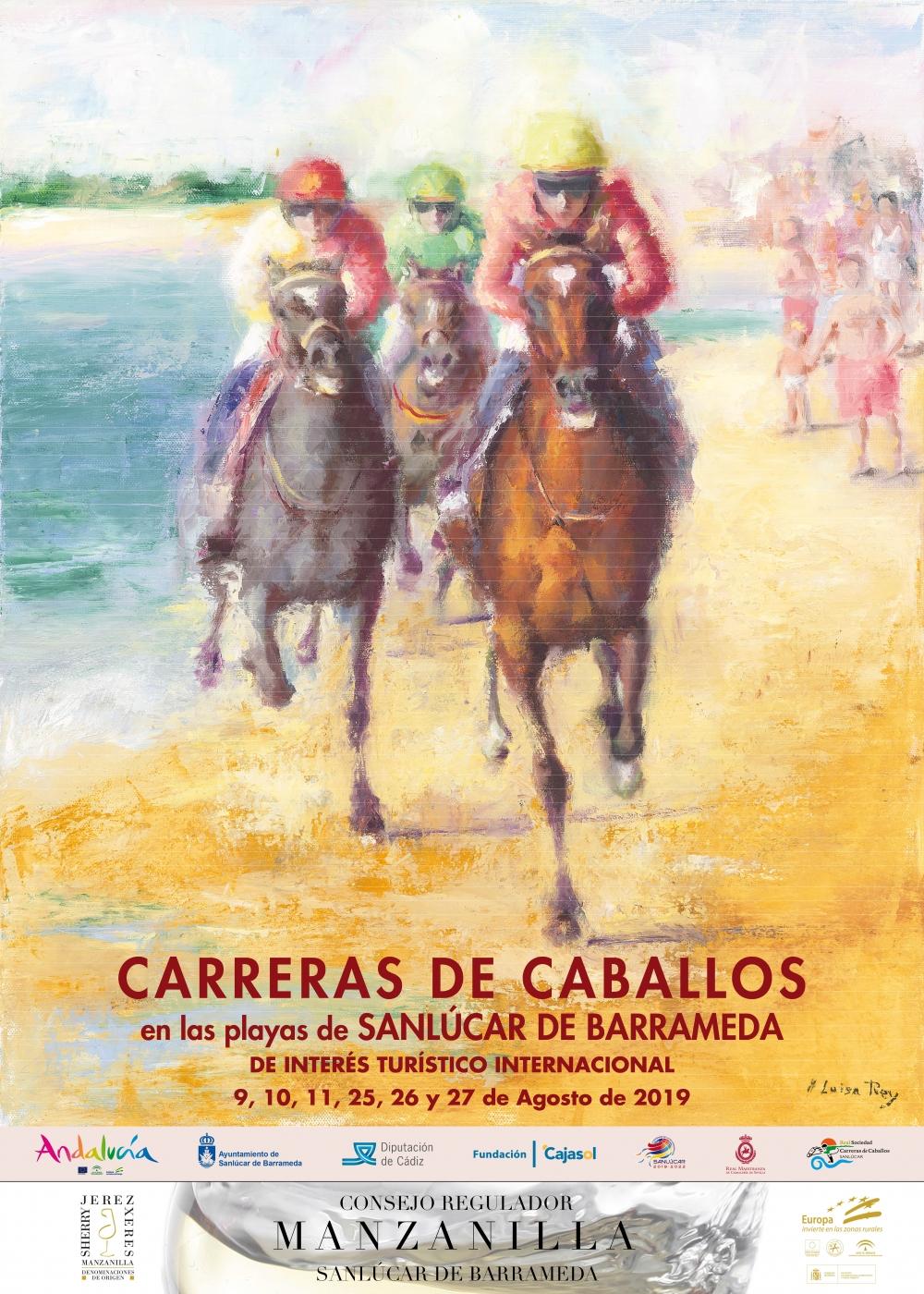 Las carreras de caballos en Sanlúcar son un espectáculo que tienes que vivir al menos una vez en la vida.