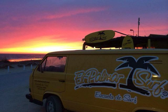 El Palmar ofrece unas espectaculares puestas de sol a las que no les hacen falta filtros en las fotos.