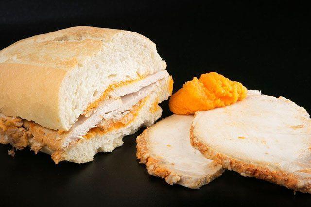 Lo que puede parecer un simple bocadillo se convierte en alta cocina en el Restaurante Venta Pinto