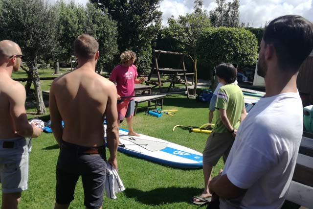 The Kitecamp Tarifa monitors explain each step in detail and with patience.