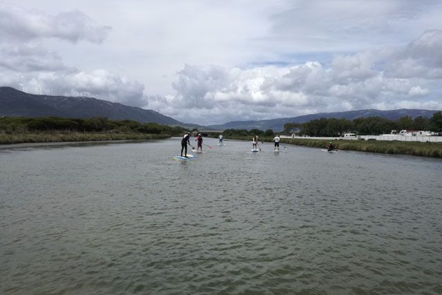 Paddle surf in the Jara river is an experience that must be lived at least once in your life.