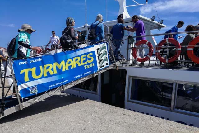 La empresa Turmares ofrece la posibilidad de avistar cetáceos y ballenas en Tarifa. Si eres amante de los animales y quieres verlos libres en su hábitat, te recomendamos que te unas a alguno de estos avistamientos. ¡Querrás repetir!