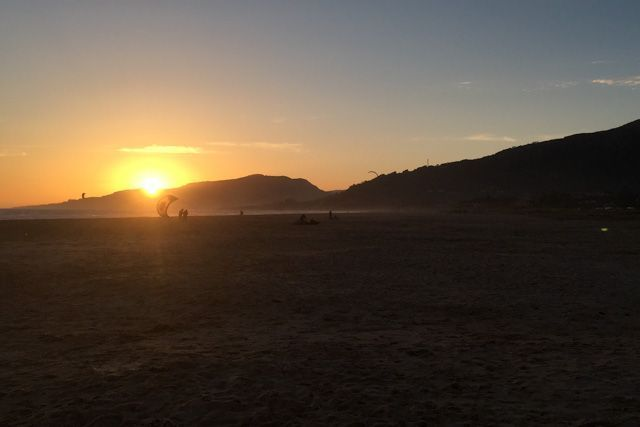 Sunsets in Tarifa are an unforgettable experience.