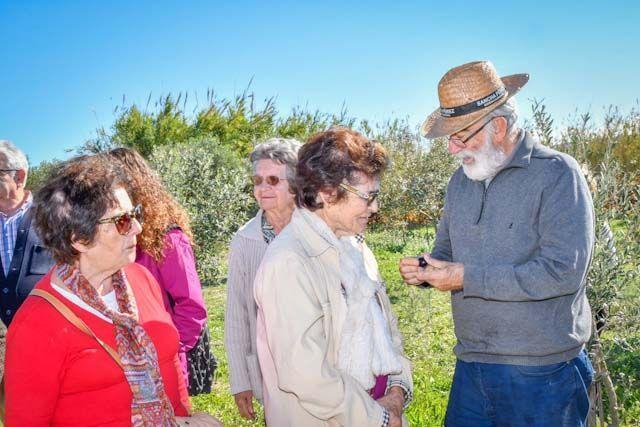 Ramón Iglesias quiere que el visitante sea parte activa al conocer la bodega.