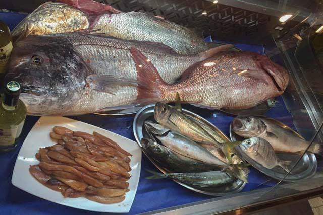 El pescado es uno de los platos estrella de este restaurante.