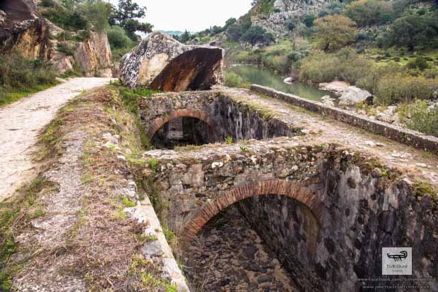 El canal de artilleria de Carlos III en Jimena