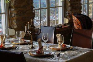 La vista de Medina Bodas en Andalucia. Restaurante