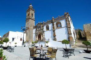 La vista de Medina Bodas en Andalucia. Terraza exterior.