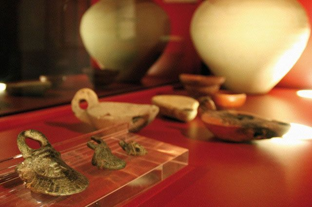 Museo Arqueologico en el pueblo de Espera.