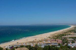 Playa Zahara de los Atunes vista