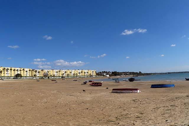 playa de la cachucha Puerto Real