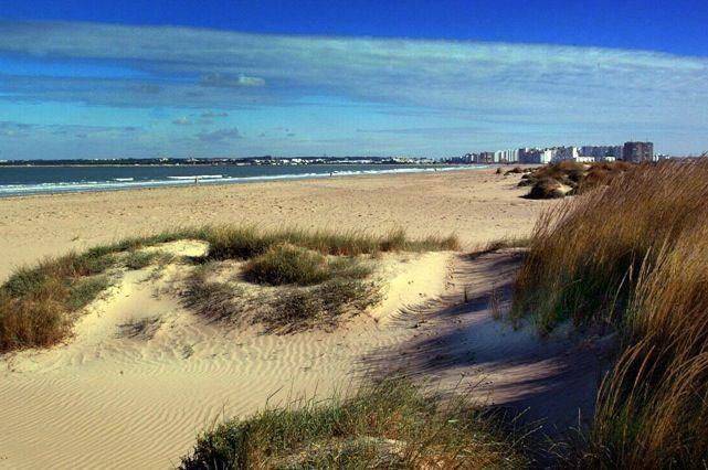 Playa de Levante de El Puerto