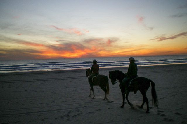 Horseback riding on some beach in Zahara de los Atunes is something you must do before you die!