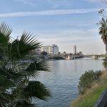 Río Guadalquivir desde el Muelle de Nueva York, Sevilla