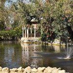 Pabellon y canal Parque Maria Luisa Sevilla
