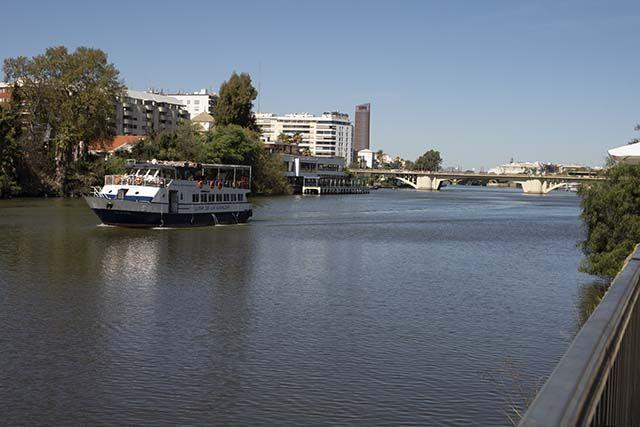 vista Paseo-de-las-Delicias-Sevilla