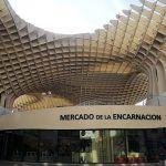 Mercado de la Encarnación bajo las Setas de Sevilla
