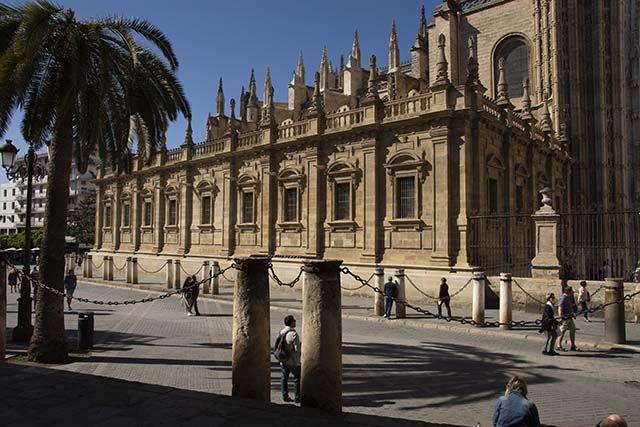 fachada catedral de Sevilla