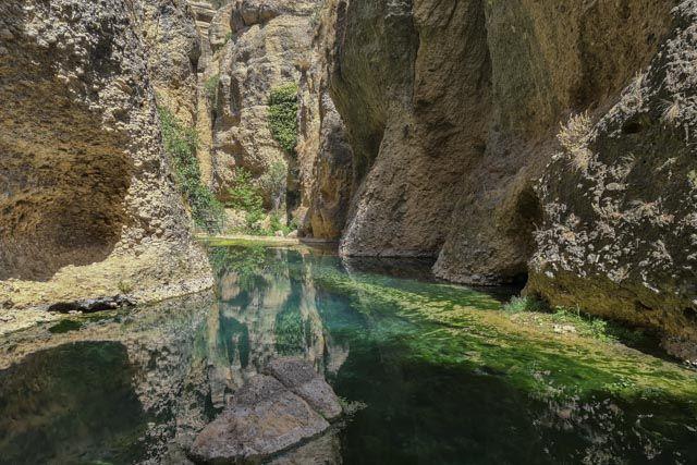 Ronda – La Casa del Rey Moro - Vista Mina de agua y jardines