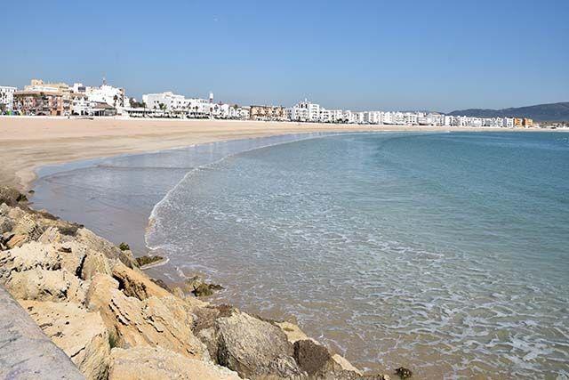 vistas a la playa barbate