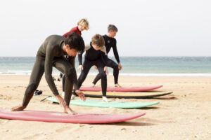 A-Frame Escuela de Surf, Tienda y Restaurante en El Palmar