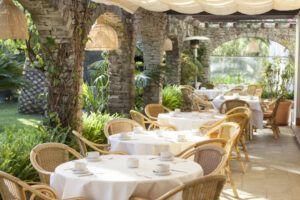 Restaurante El Jardin - hotel Punta Sur 2021